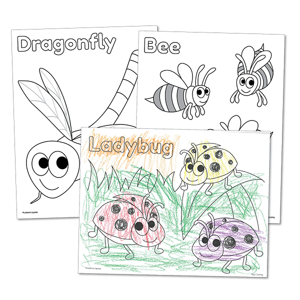 Bugs Coloring Pages.png